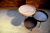 Side Table Set of 3