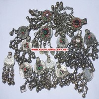 Afghan tribal gypsy metal jewelry belt accessories iy