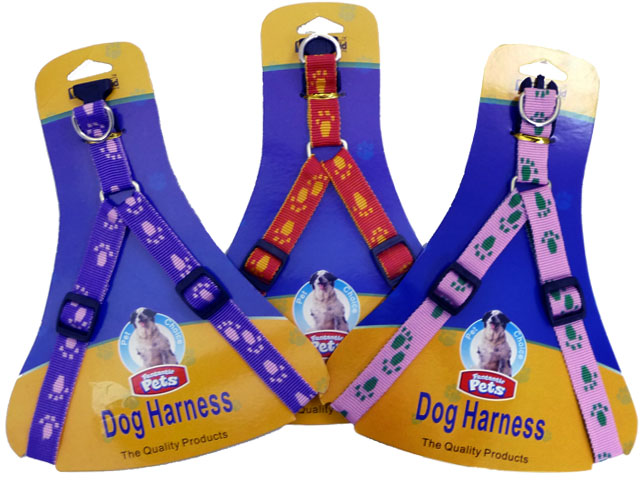 "DOG HARNESS 18""-->24"" 1.5MMON TC OLD 12381, #19195"