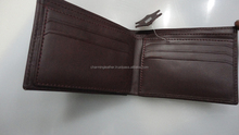 new style brown leather wallet
