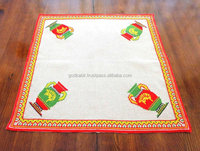 Vintage Bulgarian Linen Panama Hand Embroidered Table Cover. Home /Popular And Dynamic collection Famous embroidered Table cober