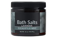 All Natural Mineral Eucalyptus & Lavender Bath Salts