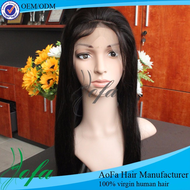 The most popular hair type perruque full lace wigs human hair in the market