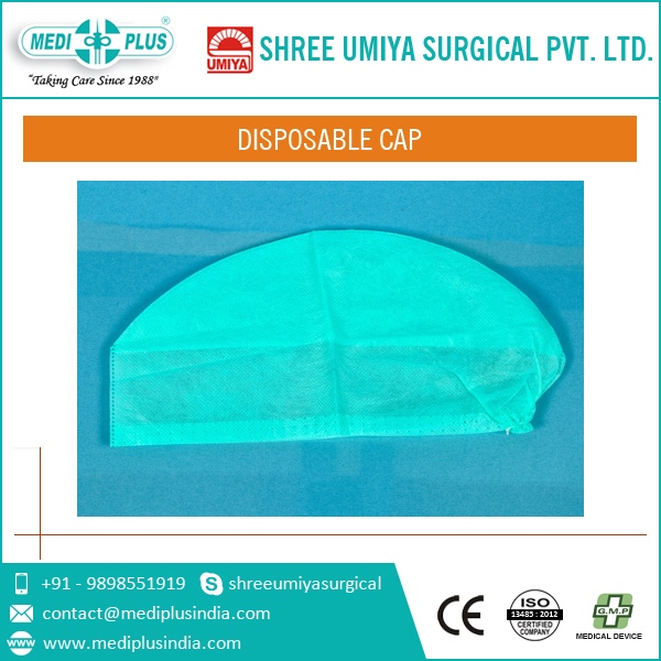Good Quality Based Disposable Cap for Dealer at Leading Price