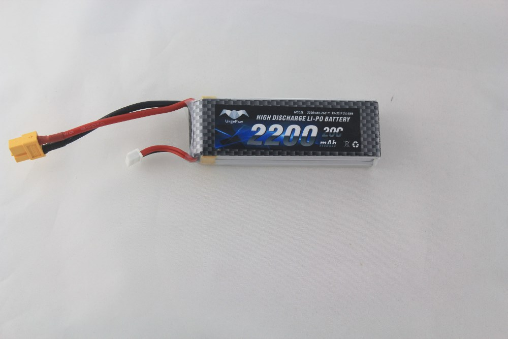 11.1v 2200mah 20c china lipo battery high discharge current wholesale lipo battery 23.6*36*105mm rc lipo battery