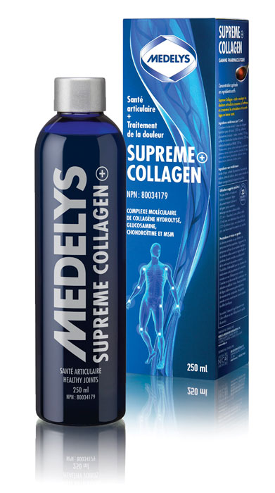 Supreme Collagen+ Repairs and strengthens joints, bones, muscles, tendons and ligaments
