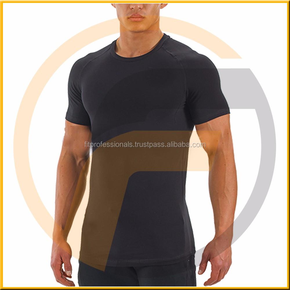 Wholesale Oversized Chinese Plain Black Cheap T-shirt