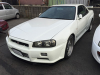 RIGHT HAND DRIVE RHD USED CARS JAPAN 1999 NISSAN SKYLINE GT-R GTR RB26DETT