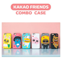 00981 For iPhone 6/6S/6 Plus/6S Plus/LG G5/G4_S2B Kakao Friends Bumper_Smart Cellular Mobile Phone Case Cover Casing