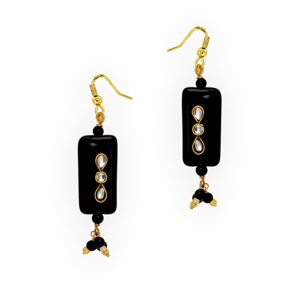 Jaipur Mart Wholesale Oxidised Earrings Silver Plated Jewelry Indian Traditional Design Drop Earring for Fashion Women & Girls