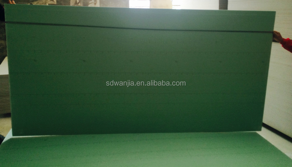 Water Resistant Gyp Board : Water resistant gypsum board price in china buy