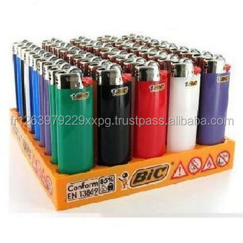 50 Full Size Big BIC LIGHTERS DISPOSABLE BULK WHOLESALE Mini Cigarette J5 /J6 /J23 /J25/J26