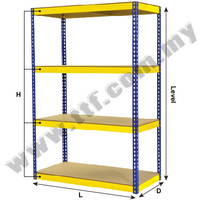 Boltless Rack, Boltless Storage Racking System Manufacturer in Malaysia