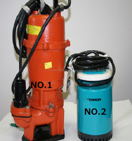 Electric screw submersible water pump from japanese TERADA