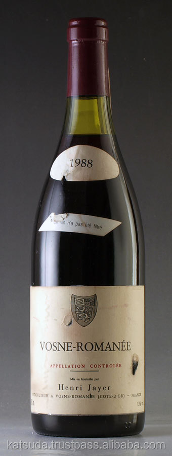 French wine bag 1988 Henri Jayer Vosne Romanee for you