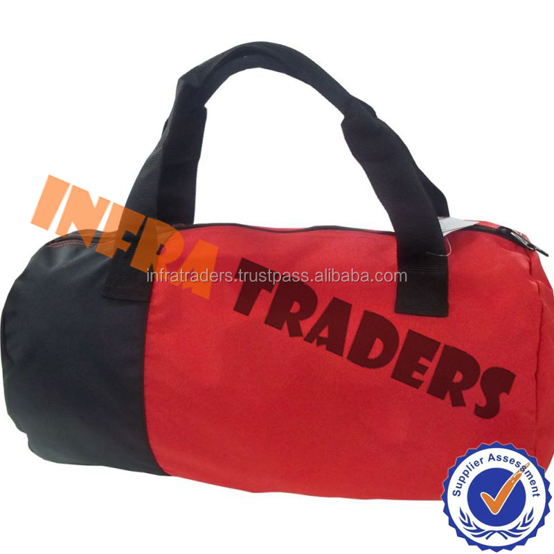Sports Gym Travel Barrel Duffel Equipment Bag