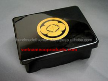 1820010116 Lacquer box of high quality, jewelry box, vietnamese lacquerware