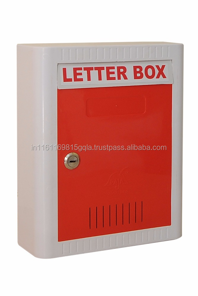 A.B.S , S,S & M.S powder cotted letter box