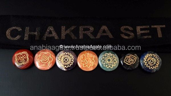 Seven Chakra Set With New Designs : Chakra Set Best Quality