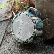 Portable Outdoor keychain shockproof waterproof mini wireless camouflage bluetooth speaker for MP3/MP4/iphone/samsung smartphone