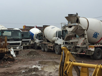 Used ISUZU concrete mixer,used Mitsubishi mixer for sale!