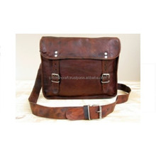 unisex genuine goat leather Shoulder bags/ briefcase