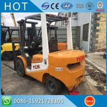 Handling Equipment TCM Used Telescopic Forklift 3 Ton FD30 Manual Type