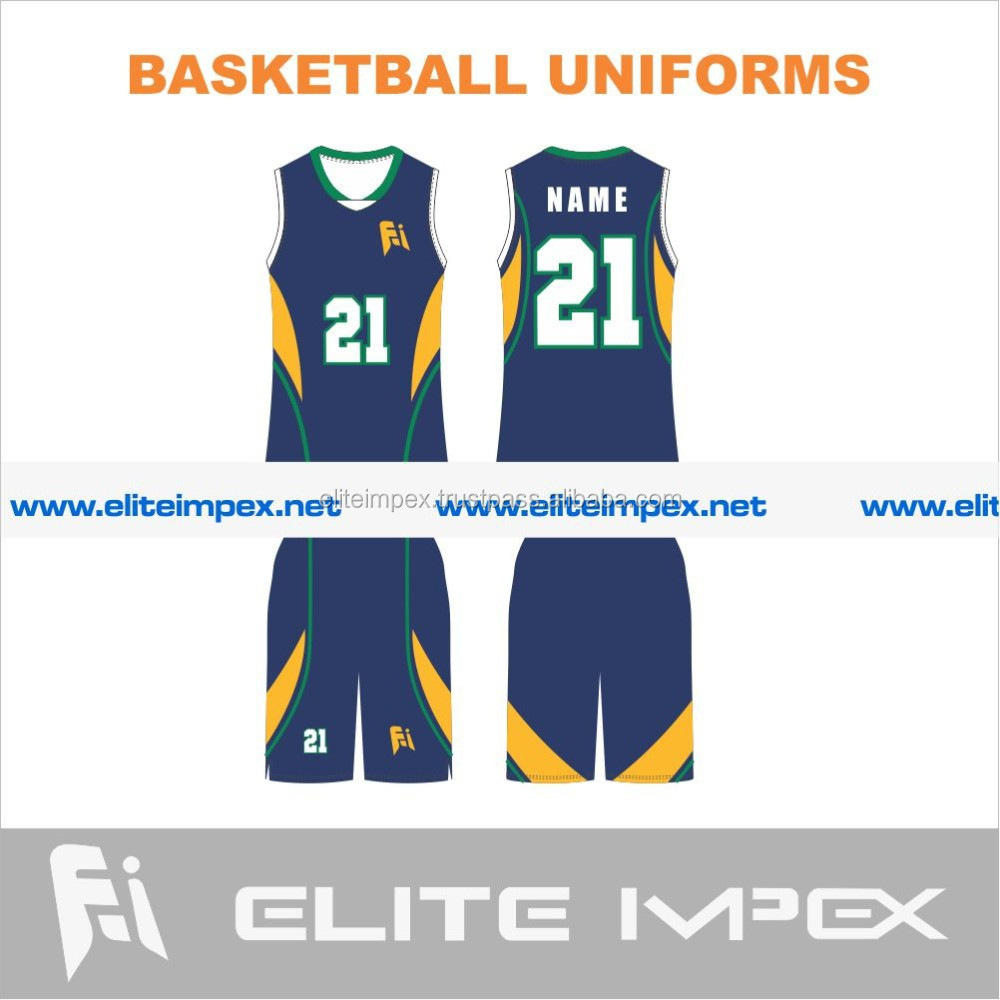 sublimated basketball team uniforms
