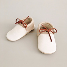 Baby Moccasins Made of Soffest Leather,Allergen Free Keep Baby Feet Remains Secure