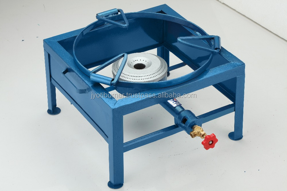 FABRICATED GAS BURNER STOVE (M.S.) (DELUXE BOTTOM)