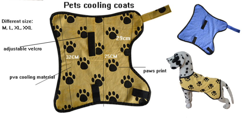 Home care products cool towel for dog