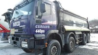 2003Y USED IVECO Dump TIPPER Truck FOR SALE IN KOREA