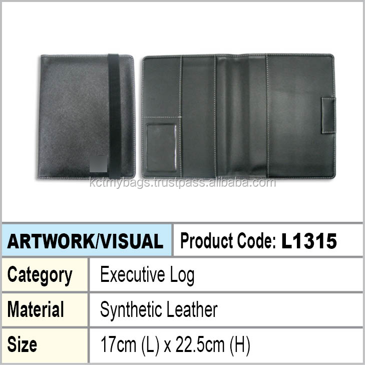PU Leather Executive Log Cover