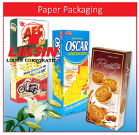 2016 HOT SALE LUXURY paper box packaging for biscuits cookies and cakes
