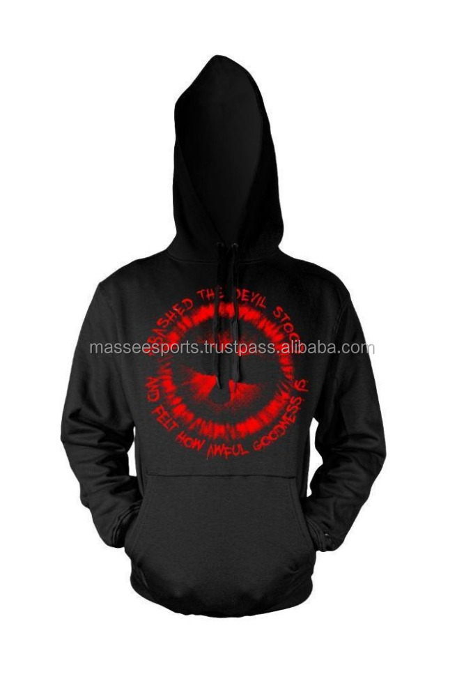 Modern excellent quality custom printed hoodies