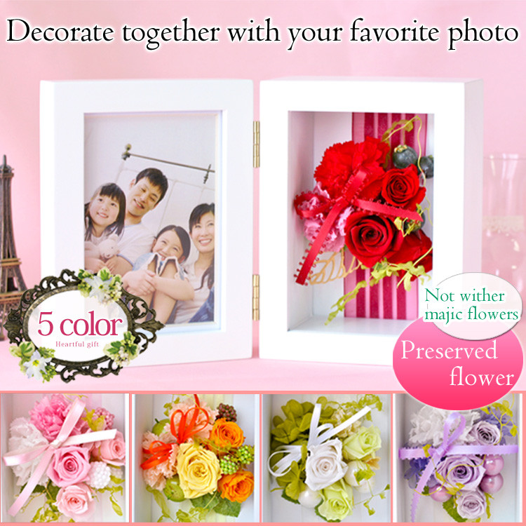 Reliable and Colorful picture photo frame PhotoFrame for gift use , small lot order available