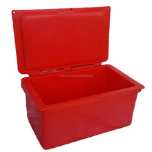Ice Box, Roto Molded Thermal Insulated Ice Box, Fish Box with attached cover