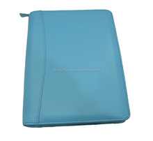 Latest Fashion Blue leather covers dairies , notebook journal , agendas