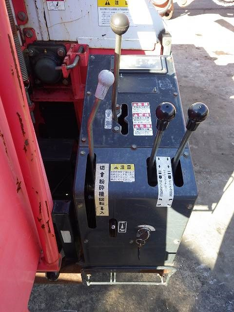 < SOLD OUT>Used Komatsu mini Mobile Chippers Shredders Zenoah SR3000-1 for sale from Japan