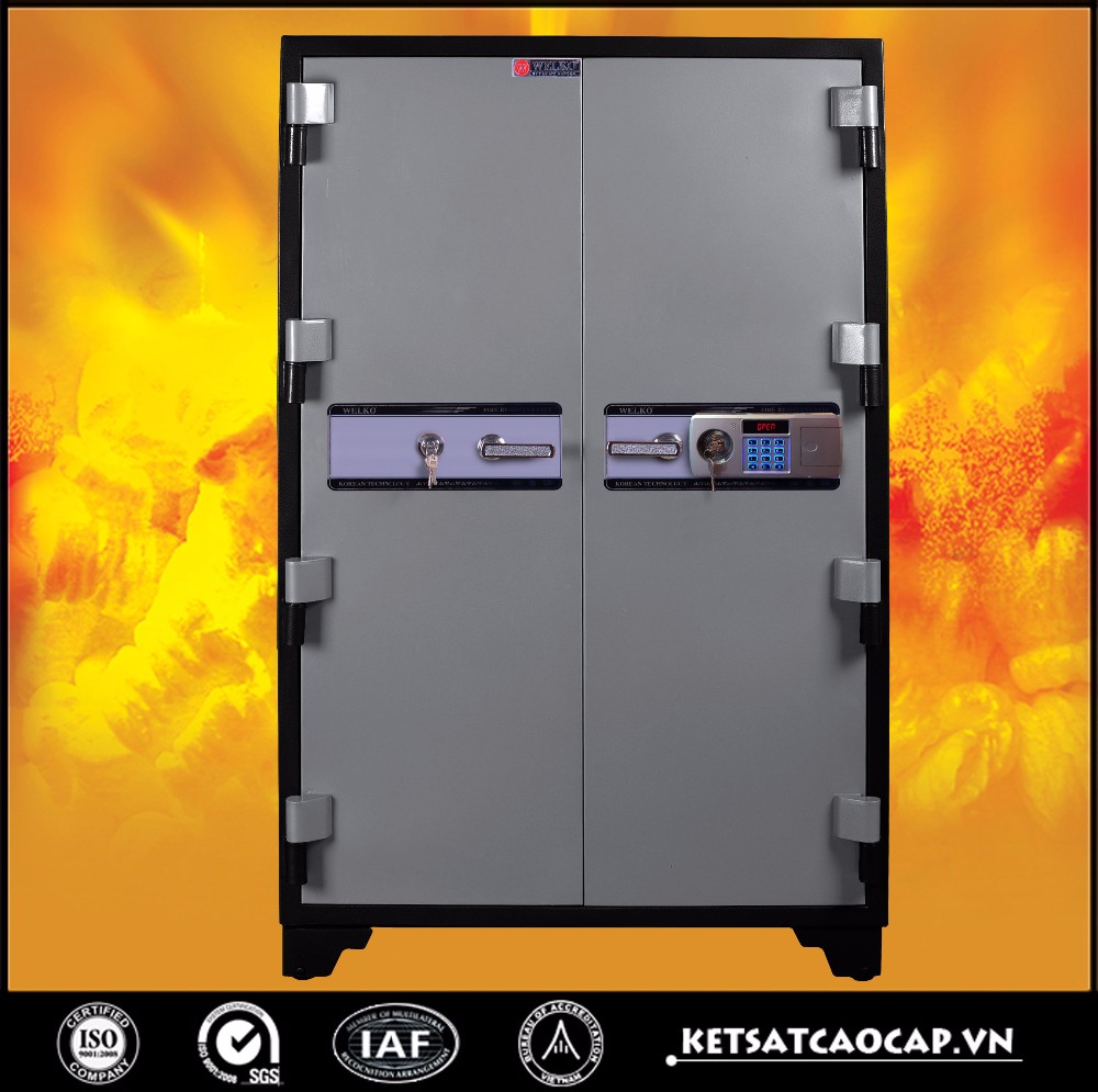 2 DOORS safe strong box,safe box KOREA- B1650 (1000)