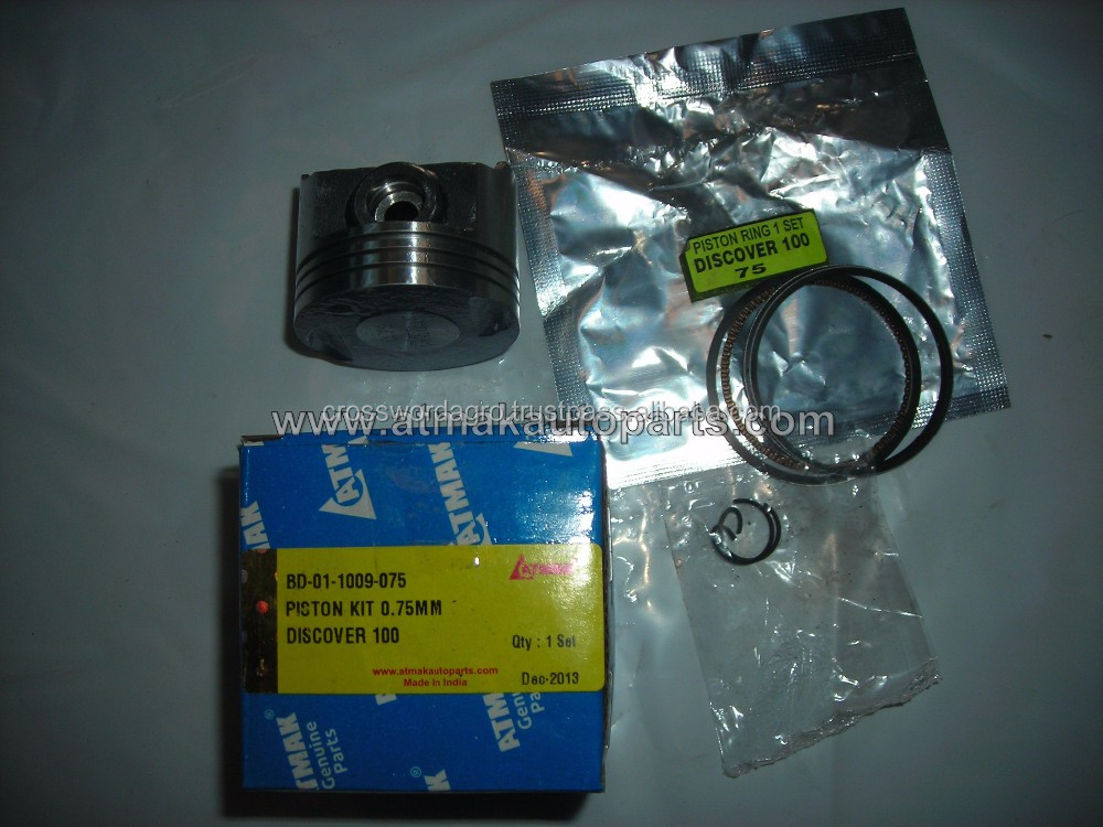 PISTON KIT 0.75mm FOR BAJAJ DISCOVER 100 IN MEXICO