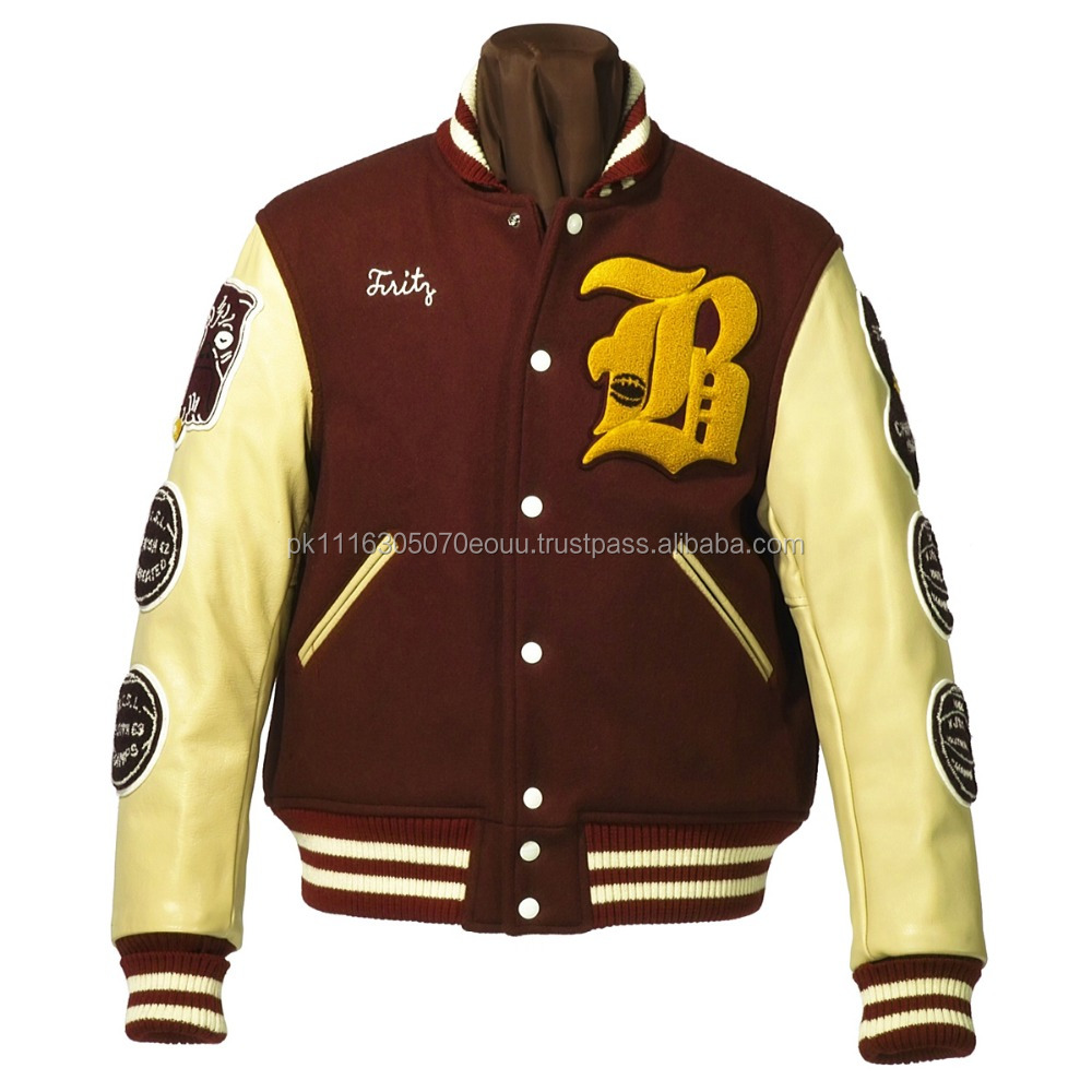 Old School Fashion Varsity jacket / Customized Letterman jacket / NWSJ-441/AT NOKI
