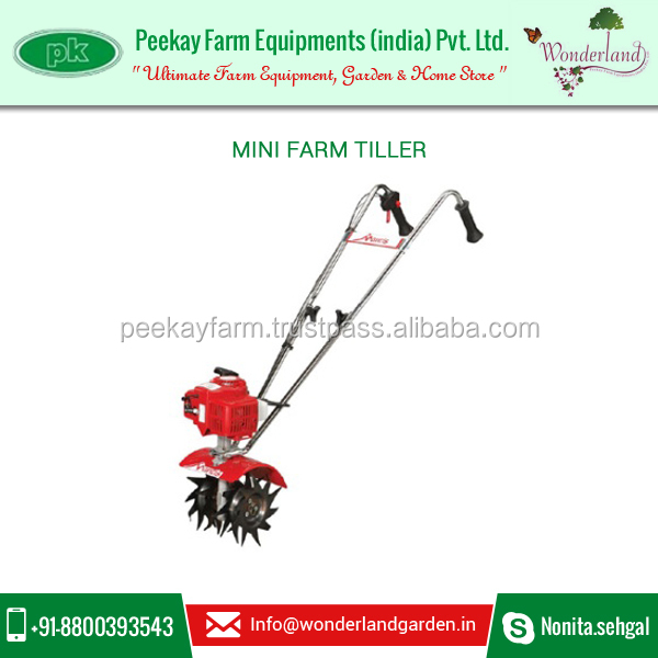 High Quality Manual Mini Used Garden Tillers at Popular Rate