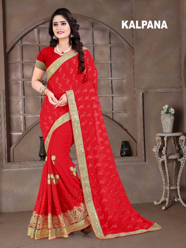 KALPANA DESIGNER WEAR SAREE