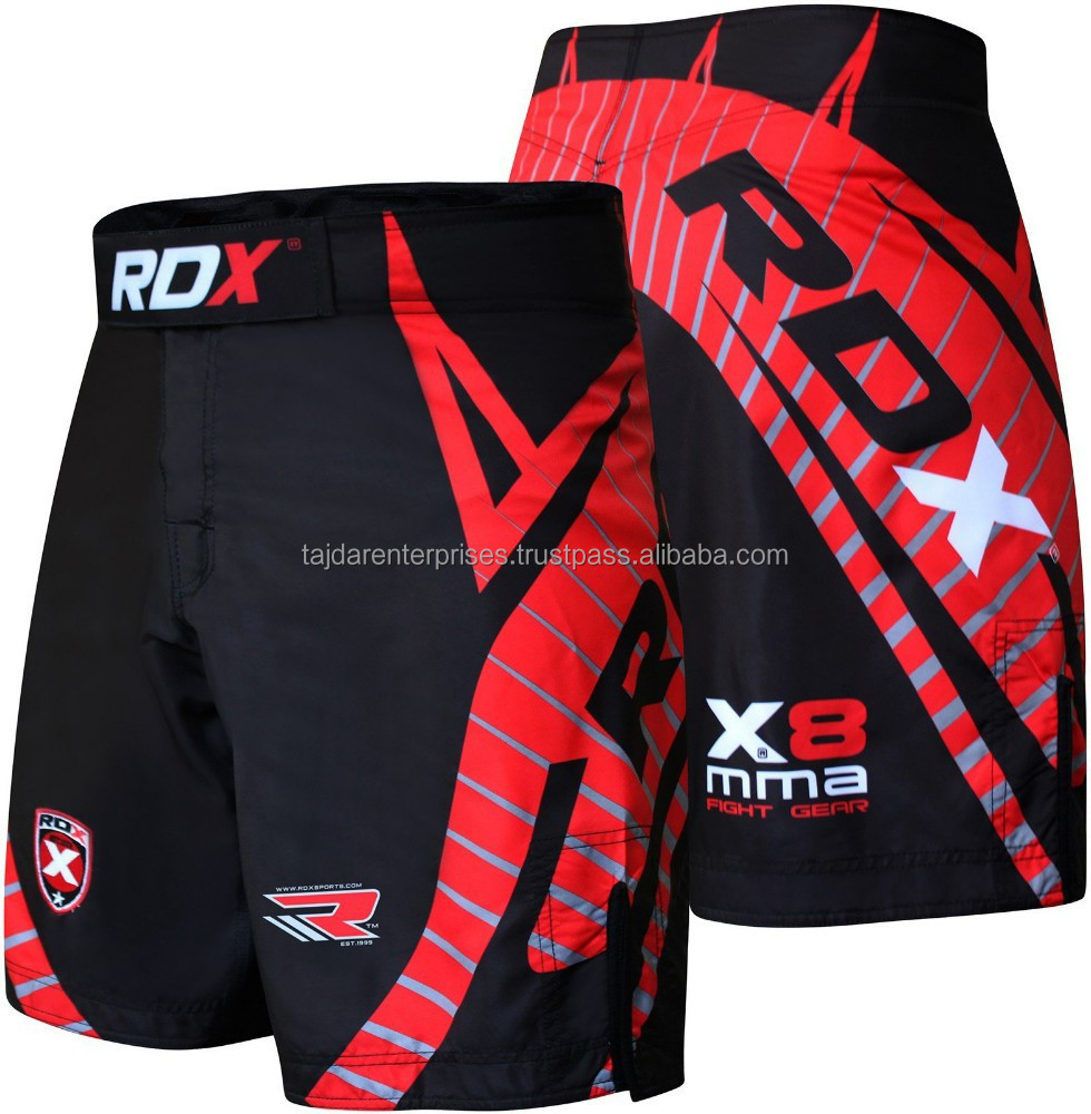 RDX Shorts UFC MMA Grappling Short Kick Boxing