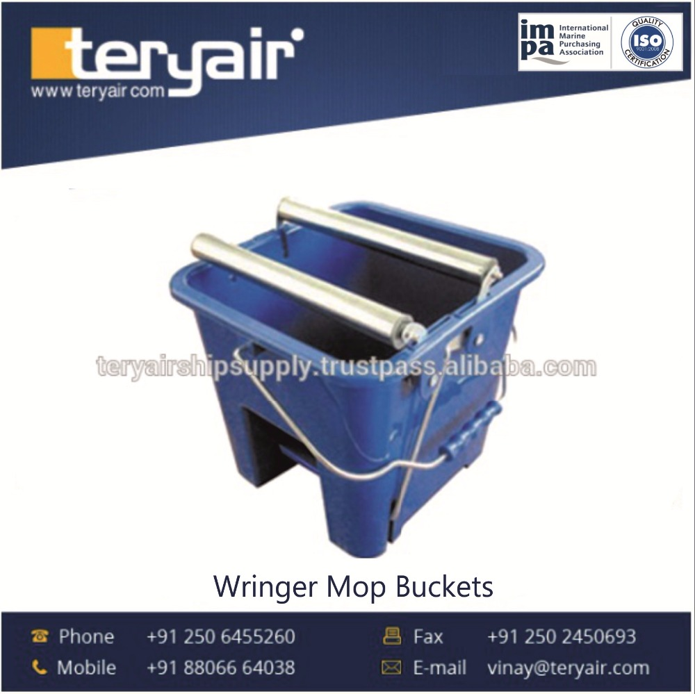 Durable Quality Superior Finish Wringer Mop Bucket Available