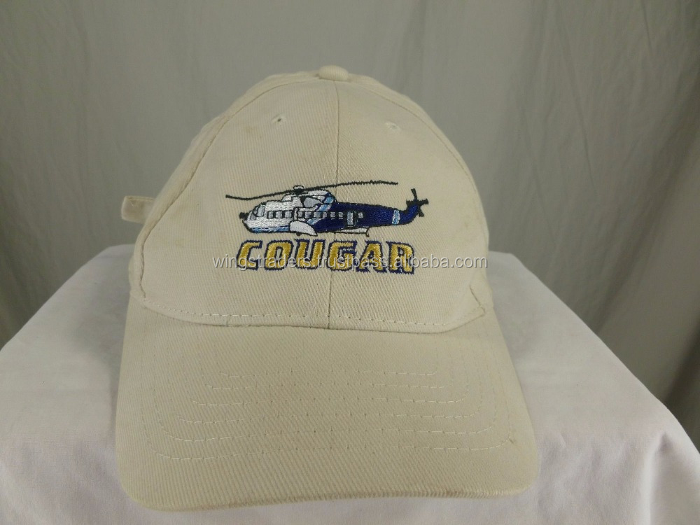 Helicopter Pilot Baseball Hat Cap Adjustable 100% Cotton Custom Color Baseball Cap