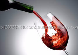 Aromatic carefully manufactured expensive wine suitable for gift