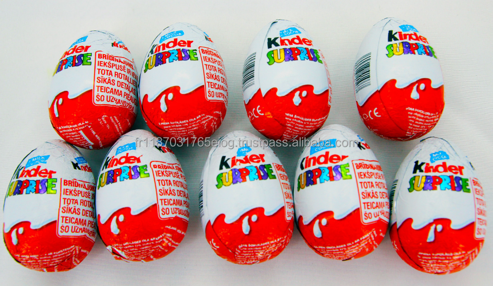 kinder joy chocolate egg/20g available for sale..