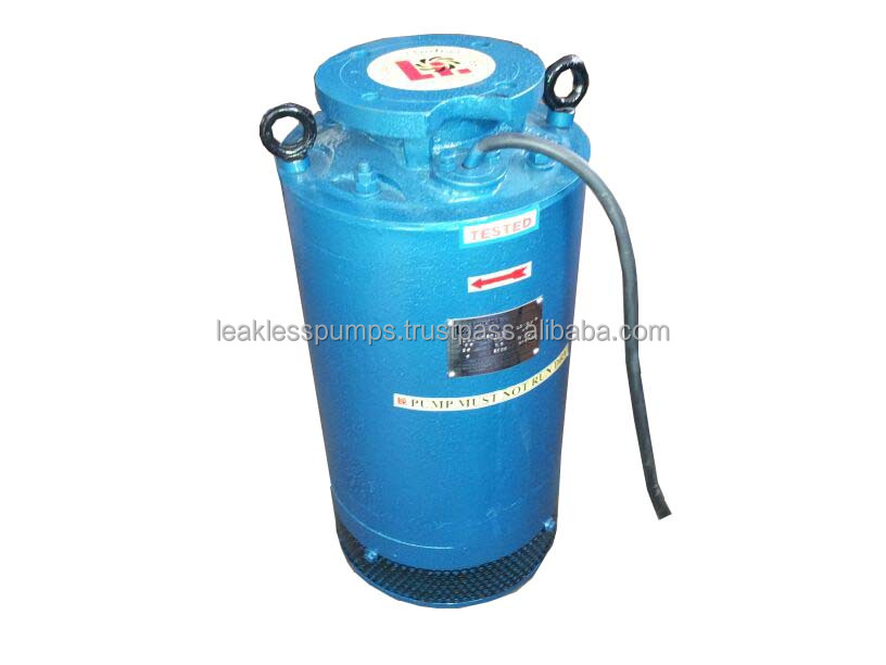 Waste water submersible motor pump for effluent draining